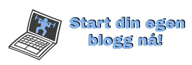 Start egen blogg cover