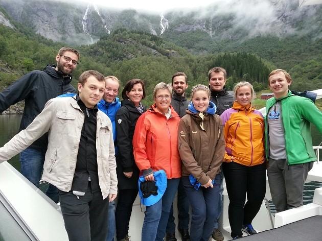 Highsoft AS består i dag av 10 kollegaer som jobber sammen i den vakre bygden Vik i Sogn.