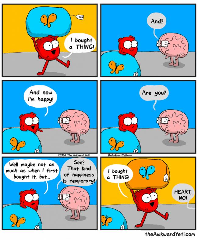 Kjøpe lykke