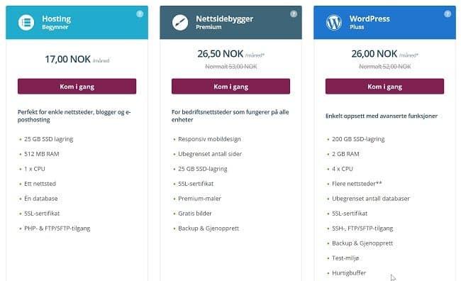 hosting pengeblogg